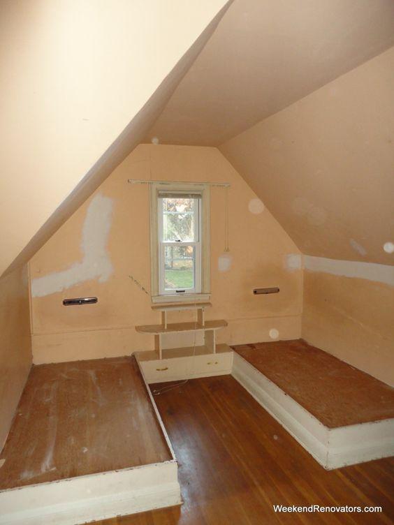 attic remodeling ideas diy - Ideas Inspiration Interesting Remodeling Attic Bedroom