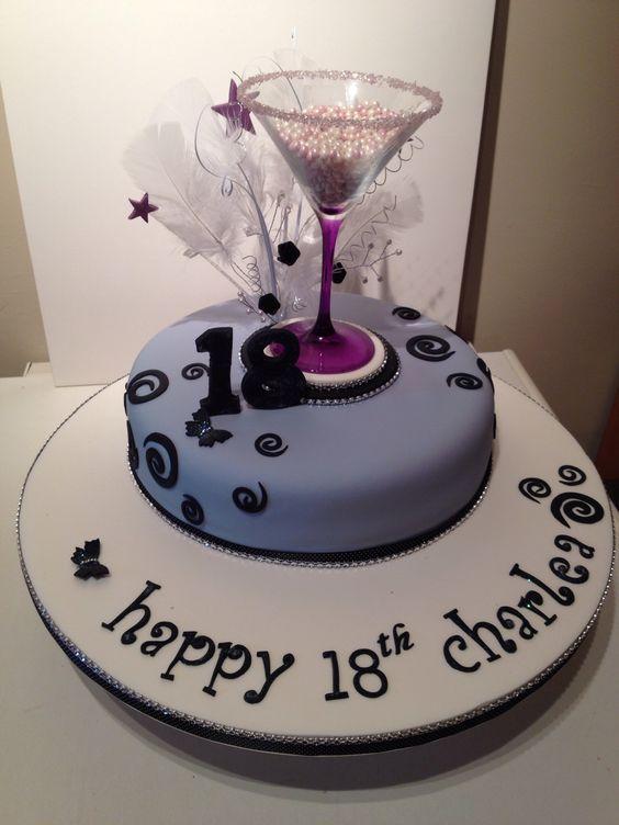 Images Of Cake For 18th Birthday : 18th Birthday cake Recipes Pinterest Birthdays ...