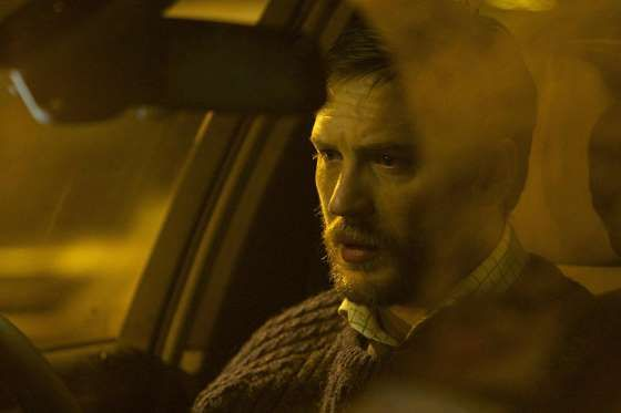 "<p>Don't write this off as 80 minutes of Hardy in a car. ""Locke"" is the ""Secret Honor"" of British on... - A24"