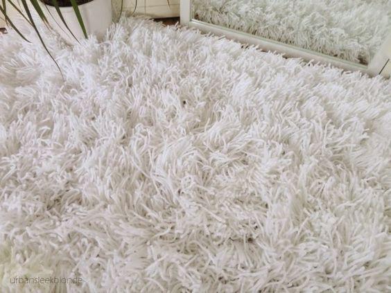 urbansleekblonde: Fluffy Shaggy Wool Yarn Tassel Rug