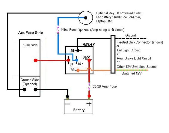 14 pin relay wiring diagram topic aux fuse box wiring. Black Bedroom Furniture Sets. Home Design Ideas
