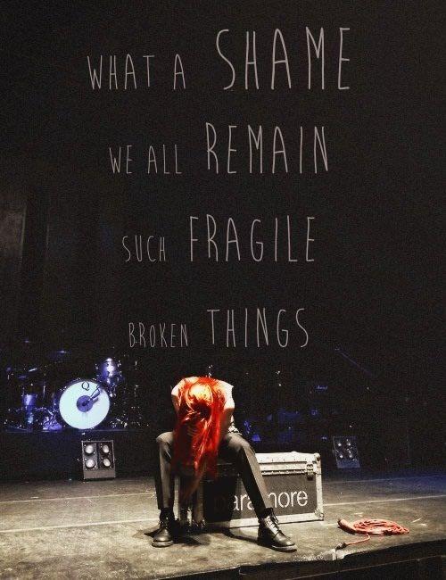 Paramore, The flame and Paramore lyrics on Pinterest Paramore Lyrics