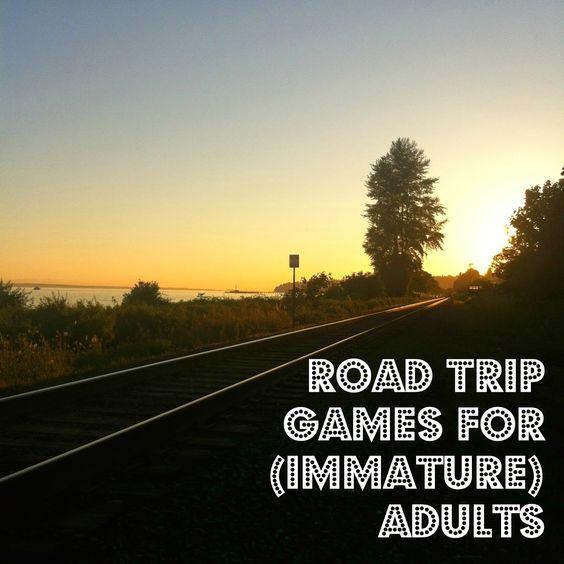 Adult Road Trip Game 52