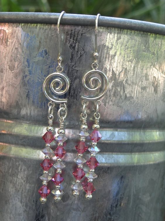 A great #Valentines Day gift that gives more! #Donating the profits to Avon Walk for #Breast Cancer. Breast Cancer Awareness Sterling Silver Pink and by Dajamana, $48.00