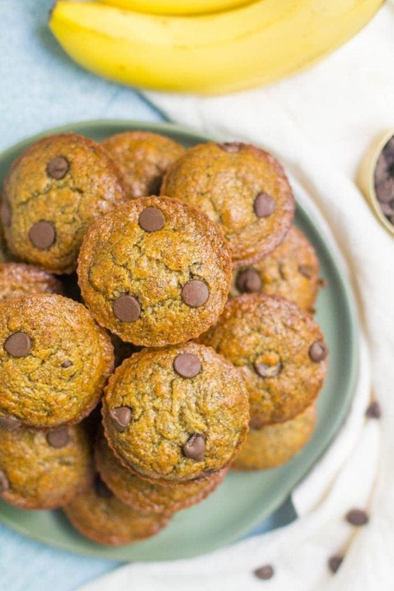 Healthy Banana Protein Muffins