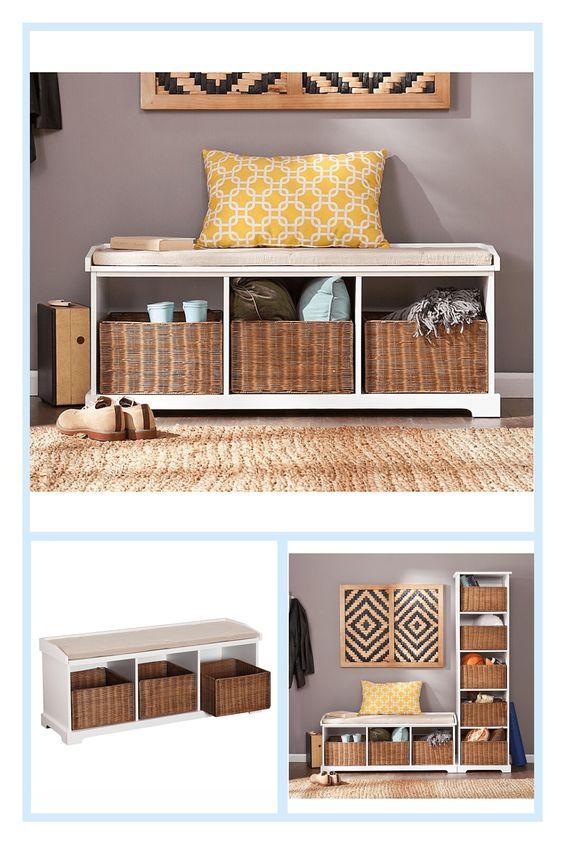 54f95bf4d8577f3b3d9189dc05be6d79 - Better Homes And Gardens Pintucked Storage Bench Multiple Finishes