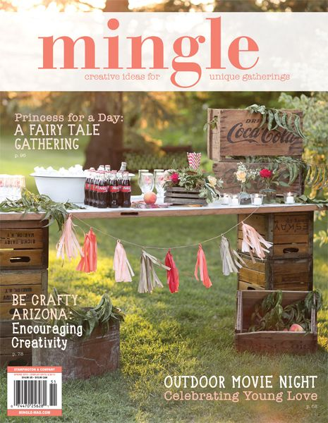 A night at the Oscars, a whimsical wedding, and a farm-to-table dinner — all in the spring issue of Mingle Magazine!:
