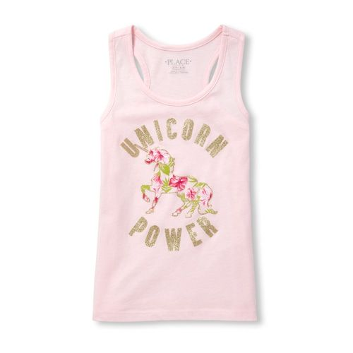 The Childrens Place Girls Fashion Tank Top