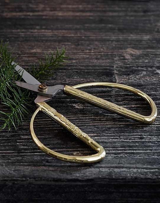 weihnachtliche Schere
