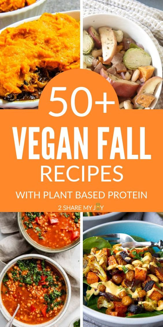 50+ Vegan Fall Dinner Recipes With Plant Based Protein