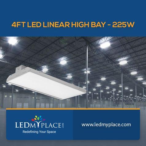 Choose 225w Led Linear High Bay For Led Indoor Lighting Led Indoor Lighting Led Linear