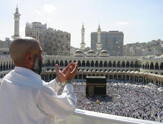 Terkencing atas sejadah di roof top Masjidil Haram