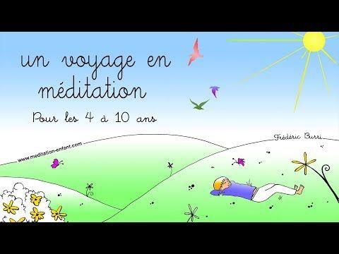 Meditation Pour Enfant S Endormir Tranquillement Youtube Meditation Enfant Relaxation Enfant Meditation