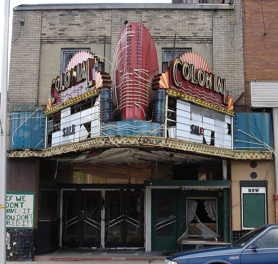 colonial theater in bluefield wv whats happened to the