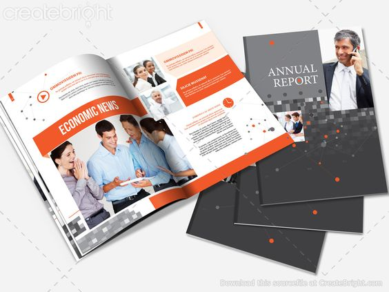 Annual Report Brochure Template – Annual Reports Templates