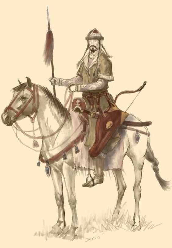 Kipchak (Cuman) Horseman:
