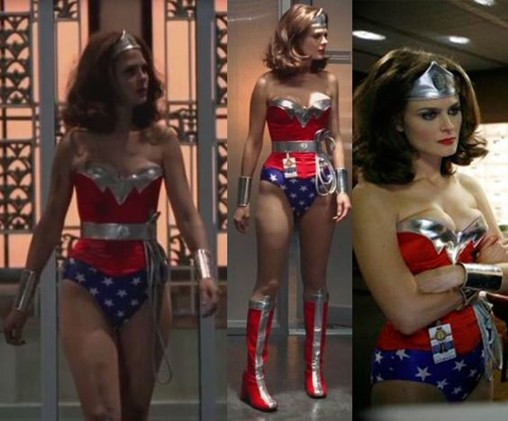 Brennan as Wonder Woman