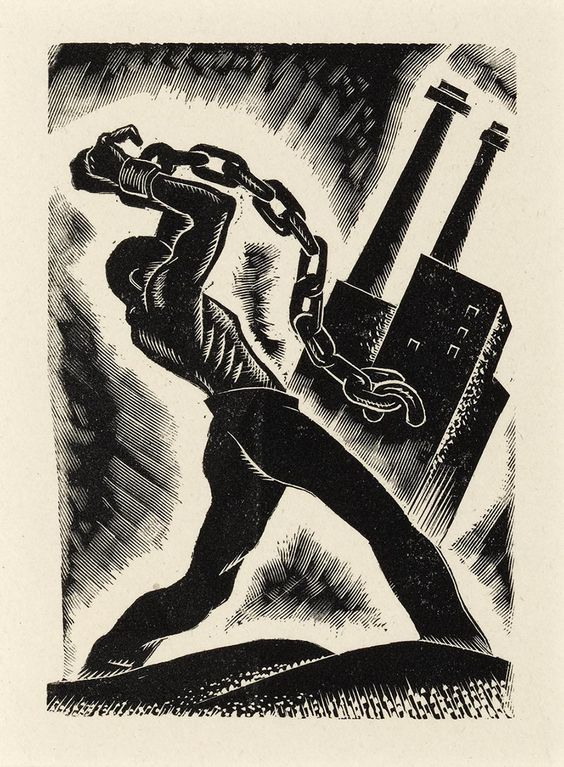 Laurence Hyde, Man Against Economic Slavery, 1938