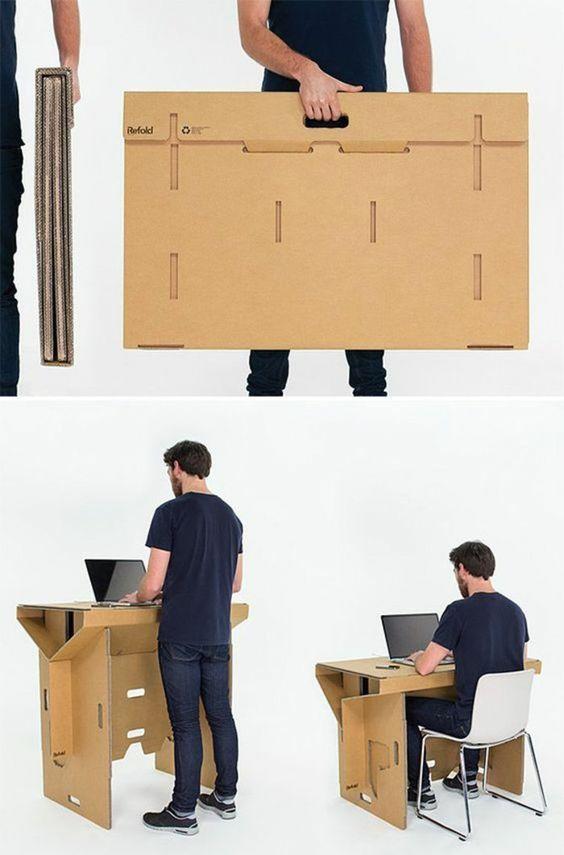 Best au ergew hnliche m bel tisch sitz refold M bel M beldesign Pinterest Cardboard boxes and Box