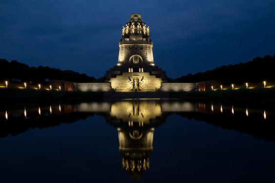 Völkerschlachtdenkmal Leipzig - Langzeitbelichtung Sommer 2014