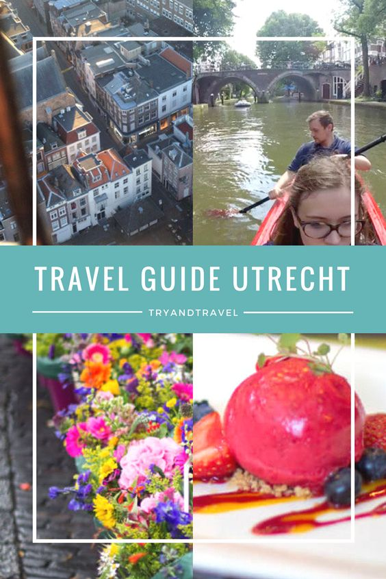 Travel Guide für Utrecht, Holland!