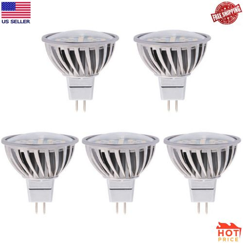 Halogen Replacement Bulb 120 Degree Wide Beam Floodlight 4 8w 50w Equivale Heroled Bulb 12v Led Beams