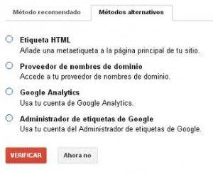 Una pincelada sobre Google Webmaster Tools