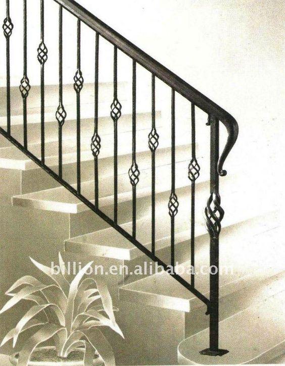 Barandas balcones en hierro buscar con google - Barandales modernos para escaleras ...