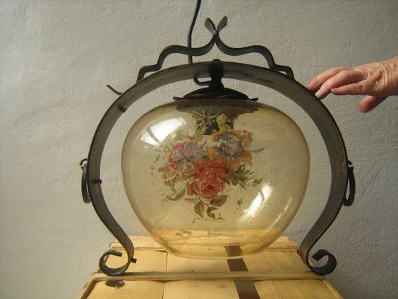 Lampa din fier forjat de danieladavid Breslo