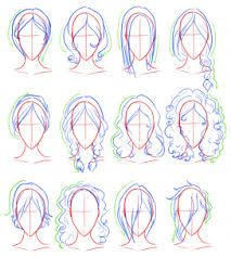 how to draw realistic hair step by step for beginners - Google Search  Drawing Hair For Beginners