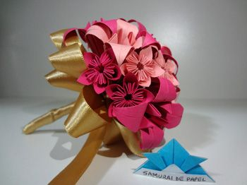 Origami 3D Buquê