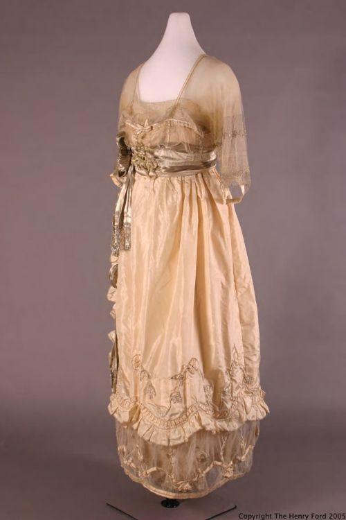 Lucile Ltd. evening dress, 1918  From the Henry Ford Historic Costume Collection