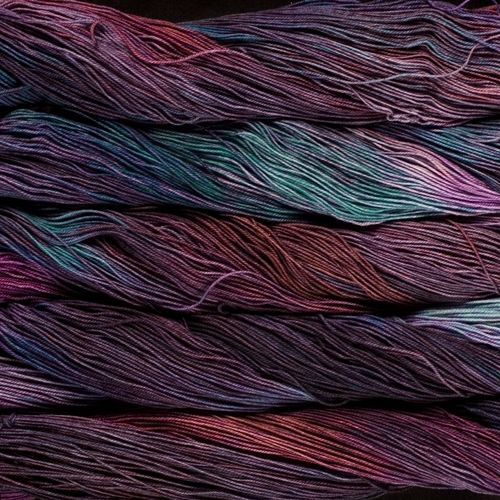 Just in...a beautiful shipment of Malabrigo yarn -- sock, lace, silky merino & worsted. Kettle-dyed in limited batch runs!