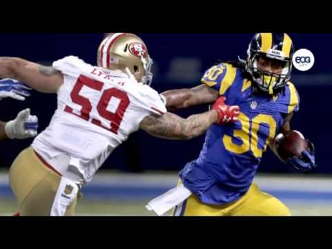 Todd Gurley St Louis Rams Running Back 30 Todd Gurley Nfl Football 49ers Running Back