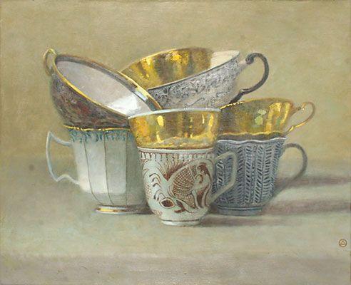 Composition of Cups  by Olga Antonova: