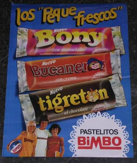 Bony, Tigretón y Pantera Rosa: ayer y hoy de los pastelitos | strambotic