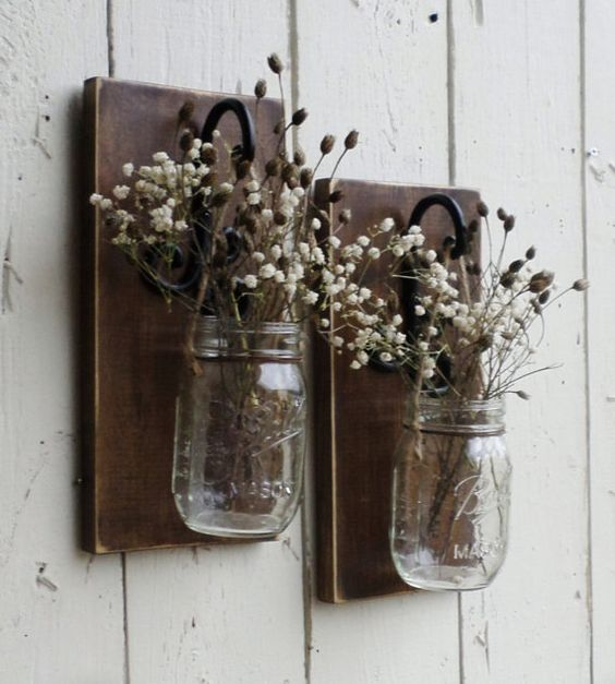 Rustic Farmhouse Wall Sconces : Pinterest The world s catalog of ideas