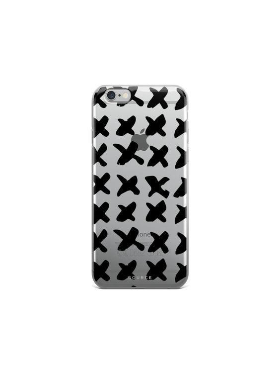 Cross Pattern | iPhone Case #graphicprint #uniqueiphonecase #minimalist #patterncase #giftsforher