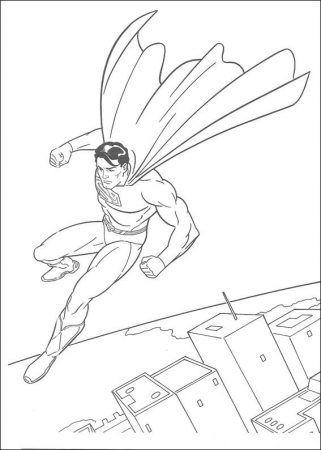 Malvorlagen Superman Drucken