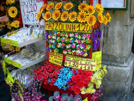 Sulmona, Abruzzo, Italia. La città dei confetti.