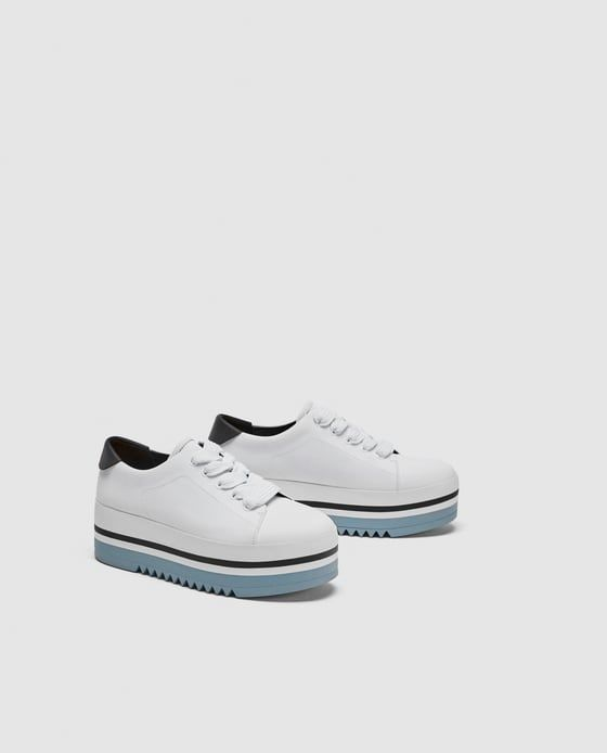 platform sneakers, chic white sneakers