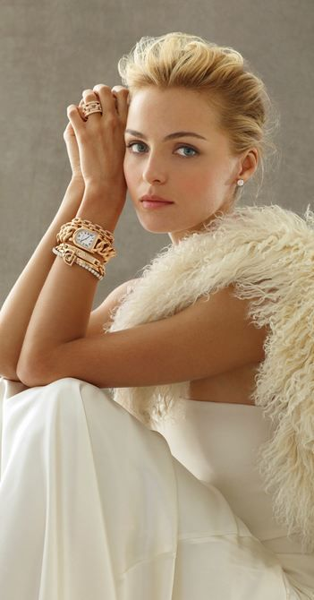 Ralph Lauren Watches & Jewelry  Gold and Creme can give a very elegant summer feel