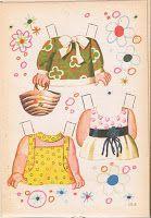 Muñecas para recortar: Colección mis muñecas de Bruguera - Magda