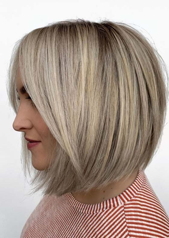 Blonde Soft Bob Haircuts for Ladies to follow in 2019