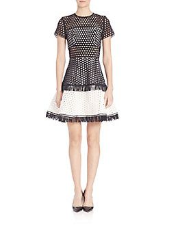 Alexis Cinthia Circle Cutout Dress Cutout Dress