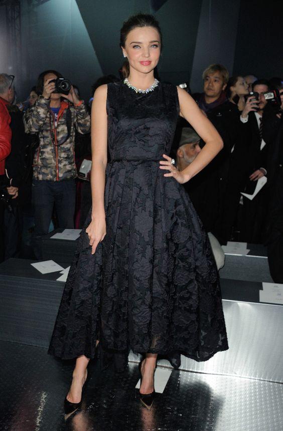 Miranda Kerr au défilé H&M