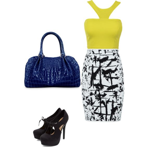 Untitled #51 by emma1012 on Polyvore featuring polyvore, fashion, style and BCBGMAXAZRIA