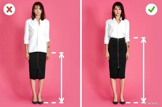 Testamos 6truques dos estilistas para fazer uma mulher parecer mais alta