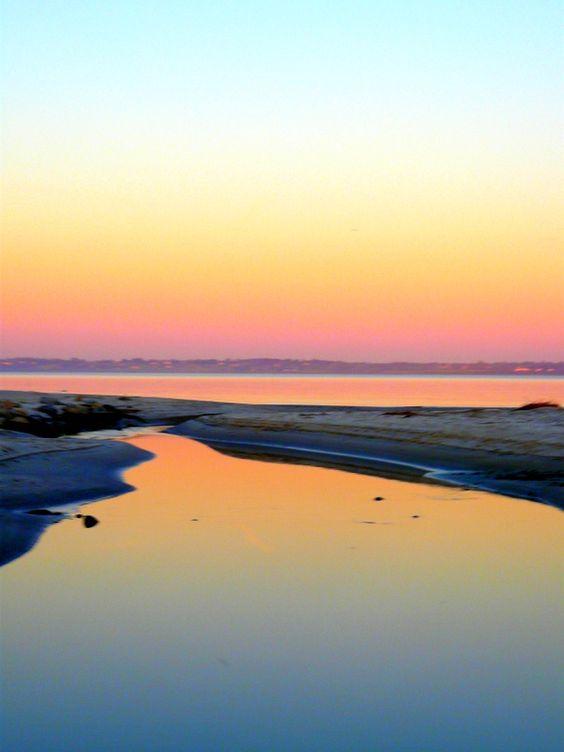 Sunrise in  Warwick RI     #VisitRhodeIsland