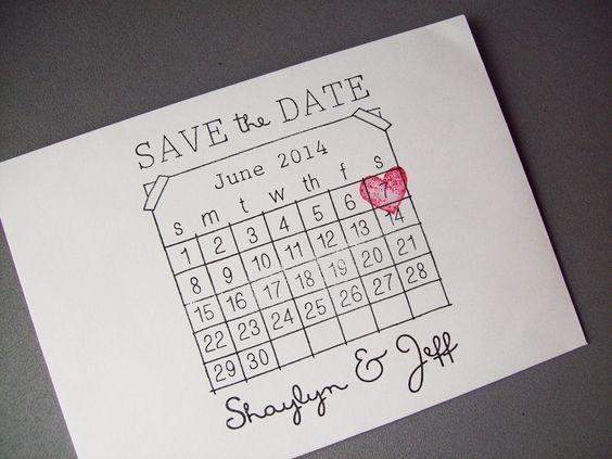 Diy Calendar Save The Date : Diy calendar save the date and stamp sets on pinterest